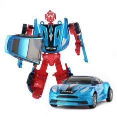 Robotel Transformabil Starry 2 in 1 Albastru - Masinuta Rastar