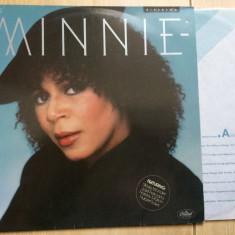 Minnie riperton minnie album disc vinyl lp Muzica Pop capitol records soul funk 1979 editie vest, VINIL