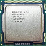 Procesor socket 1156 Intel  Core i5 750 2.66GHz 8mb cache +cooler, Intel Core i5, 4