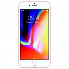 Smartphone Apple iPhone 8, 4.7 Inch, Hexa Core, 2 GB RAM, 64 GB, Retea 4G, iOS 11, Gold - Telefon iPhone