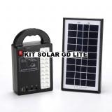 Cumpara ieftin KIT SOLAR COMPLET GD LITE CU 3 BECURI,ACUMULATOR,PANOU SOLAR,LAMPA CU LEDURI.NOU