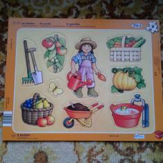 Gradina / puzzle copii 9 piese (+12 luni)