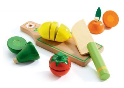 Fructe si legume de feliat Djeco foto