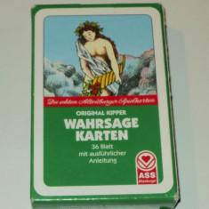 Wahrsage karten, 36 carti tarot tiganesc, original kipper wahrsagekarten - Carte ezoterism