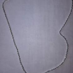Lantisor cu pietricica rosie de la Diamond International, nou - Lantisor inox