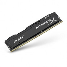 Memorie HyperX Fury Black 8GB DDR4 2133MHz CL14 1.2V - Memorie RAM Kingston