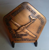 DEMONSTRATIE AVIATICA - GHIMBAV BRASOV - AERO CLUB - Medalie AVIATIE - 1978