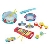 Set instrumente muzicale, 8 piese - Bongo