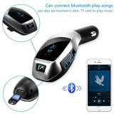 Car KIt X7 complet HandsFree Wireless FM Modulator Bluetooth