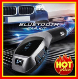 Modulator Fm Auto Bluetooth MP3 Usb SD  Car Kit x6