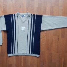 Bluza FILA. Marime L (52), vezi dimensiuni; material lana; impecabila, ca noua - Bluza barbati, Marime: L, Culoare: Din imagine