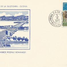 (No4) FDC ROMANIA -1977-L.P.944- Ziua Marcii Postale Romanesti