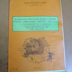 Berea Simleul Silvaniei Crasna Posaga Rimet Alba Iulia Jina 1984 harta geologica - Harta Romaniei