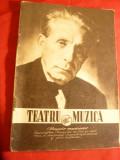 Revista  Teatru si Muzica -Nr.consacrat Laureatiilor Premiilor de Stat 1956