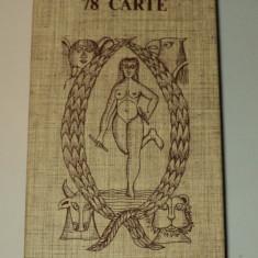 Tarocco indovino dal negro, 78 carti tarot in limba italiana - Carte ezoterism