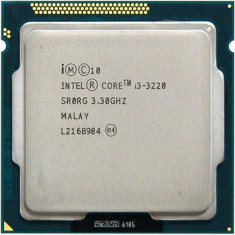 Procesor socket 1155 Intel Ivy Bridge, Core i3 3220 3.3GHz + cooler - Procesor PC Intel, Intel Core i3, Numar nuclee: 2, Peste 3.0 GHz
