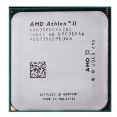 Procesor quad core AMD Athlon II X4 605e 2.30GHz socket AM2+ AM3 45w - Procesor PC AMD, Numar nuclee: 4, 2.0GHz - 2.4GHz