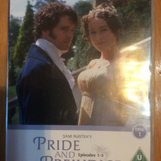 PRIDE AND PREJUDICE - EPISODES 1- 3 - BBC CLASSIC DRAMA - Film romantice, DVD, Engleza