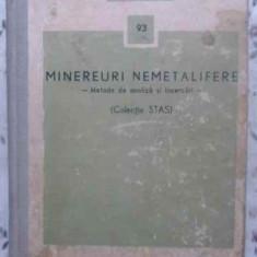 Minereuri Nemetalifere. Metode De Analiza Si Incercari (colec - Colectiv, 413491 - Carti Constructii