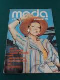 REVISTA MODA *NR. 110/COLECȚIA PRIMĂVARĂ-VARĂ 1986