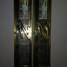 Kit 2 x 2 Gb Ram DDR2 OCZ Gold / Gaming edition / 800 Mhz PC2-6400U (40A) - Memorie RAM Ocz, 4 GB, Dual channel