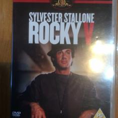 ROCKY V - DVD ORIGINAL - Film actiune mgm, Engleza