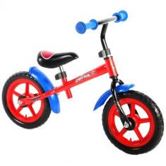 Bicicleta fara Pedale Spiderman 12 inch - Bicicleta copii