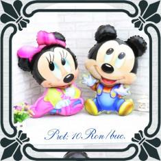 Baloane folie baby Minnie și Mickey Mouse - Baloane copii Disney