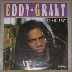 Vinyl/vinil Eddy Grant – At His Best, 1985, VG+ - Muzica Reggae