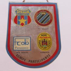 Fanion fotbal - Cupa STEAUA BUCURESTI (Turneu International 4-5.08.1987)