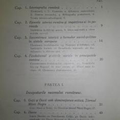 ISTORIA BASARABIEI, CONTRIBUTII LA STUDIUL ISTORIE ROMANILOR, 1937, VOL.1 - Carte Istorie