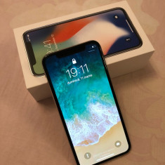 IPhone X Silver 64gb - Telefon iPhone Apple, Argintiu
