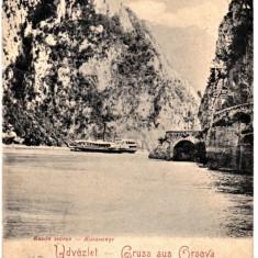 Orsova ilustrata clasica circulata in 1900