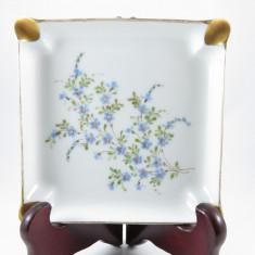 Scrumiera Limoges Giraud semnata - Portelan, Decorative