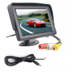 Monitor LCD TFT 4.3 inch pentru camera mers inapoi COD 75