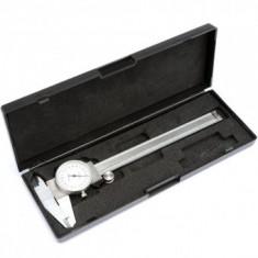 Subler cu cadran Vorel 15220, onox, 150 mm, precizie 0.02 mm - Nivela laser cu linii