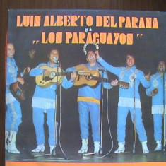 LOS PARAGUAYOS - La Paloma și altele - Disc pick - up vinil - Muzica Latino electrecord