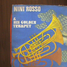 NINI ROSSO - IL SILENZIO și altele - HIS GOLDEN TRUMPET - Disc pick - up vinil - Muzica Ambientala electrecord