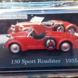 Macheta Mercedes sport roadster 1935, 1:43