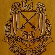 STATUL MAJOR AL FORTELOR TERESTRE  - Medalie Militara