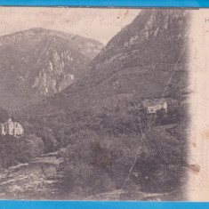 CARTE POSTALA DIN PERIOADA AUSTROUNGARA - BAILE HERCULANE - RAUL CERNA - 1904, Circulata, Printata