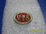 Insigna   Finala  CCE   LIverpool  -  Real  Madrid  1981