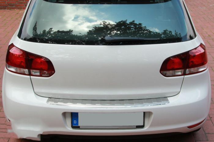 Ornament Portbagaj crom  Protectie bara VW Golf 6 HB 2008-2012 AL-090318-27