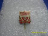 Insigna     aniversara  100 ani   FC  Liverpool