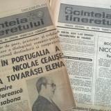 LOT 2 NR.DE ZIARE SCANTEIA TINERETULUI ANUL 1975