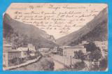 CARTE POSTALA PERIOADA AUSTROUNGARA - BAILE HERCULANE - 1903, Circulata, Printata