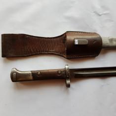 CUTIT-BAIONETA MILITARA DE LUPTA ROMANEASCA - al 2 lea RAZBOI MONDIAL - WW 2