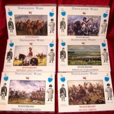 Lot 6 cutii Soldatie figurine plastic calareti Napoleon War Waterloo - Miniatura Figurina