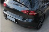 Ornament Portbagaj crom  Protectie bara VW Golf 7 Hatchback 2012-> AL-090318-29