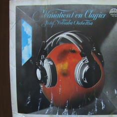 MOZART - EINE KLEINE NACHTMUSIK etc. Variațiuni din clasici - Disc pick-up vinil - Muzica Clasica Supraphon